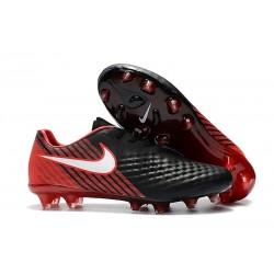 Scarpe da Calcio Nike Magista Opus II FG ACC Nero Rosso