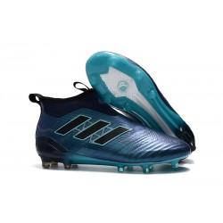 adidas ACE17+ PureControl FG Scarpe Uomo - Blu Nero