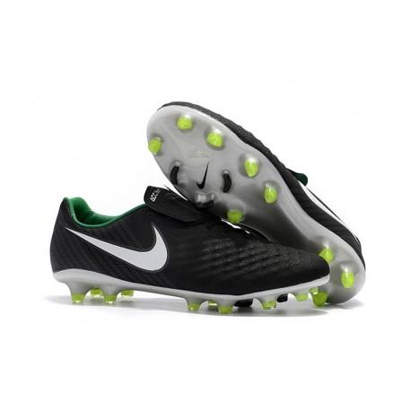 Nike Magista Opus 2 FG Nuovo Scarpa da Calcio - Nero Bianco