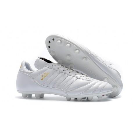Scarpe Calcio Adidas Copa Mundial Pelle FG Bianco