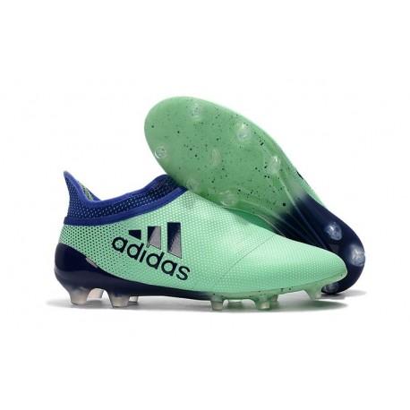 Scarpe da Calcio Uomo adidas Adidas X 17+ Purespeed FG - Verde Nero