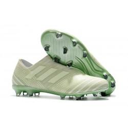 adidas Nemeziz 17+ 360 Agility FG Scarpa - Verde Bianco