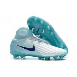 Nike Magista Obra II FG Scarpa da Calcio Bianco Blu