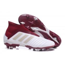 adidas Scarpa da Calcio Predator 18+ FG - Blanco Rosso