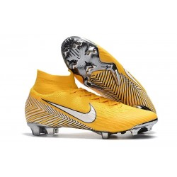 Nike Neymar Mercurial Superfly 6 Elite DF FG Scarpe Calcio - Giallo
