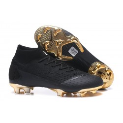 Nike Mercurial Superfly 6 Elite DF FG Scarpe Calcio - Nero Oro