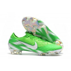 Scarpe Neymar Coppa del Mondo 2018 Nike Mercurial Vapor XII FG Verde Argento