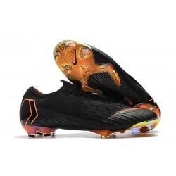 Scarpe Neymar Coppa del Mondo 2018 Nike Mercurial Vapor XII FG Nero Arancio