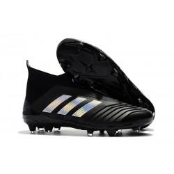 adidas Scarpa da Calcio Predator 18+ FG - Nero Argento