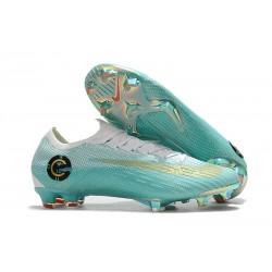 Scarpe Neymar Coppa del Mondo 2018 Nike Mercurial Vapor XII FG Blu Bianca Oro