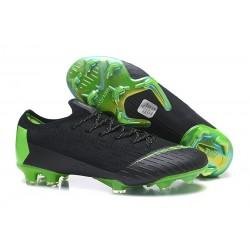 Nike Mercurial Vapor XII Elite FG Scarpa da Calcio - Nero Verde