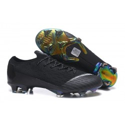 Nike Mercurial Vapor XII Elite FG Scarpa da Calcio - Nero Bianca