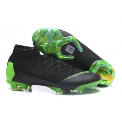 Nike Scarpa Mercurial Superfly VI Elite DF FG - Nero Verde