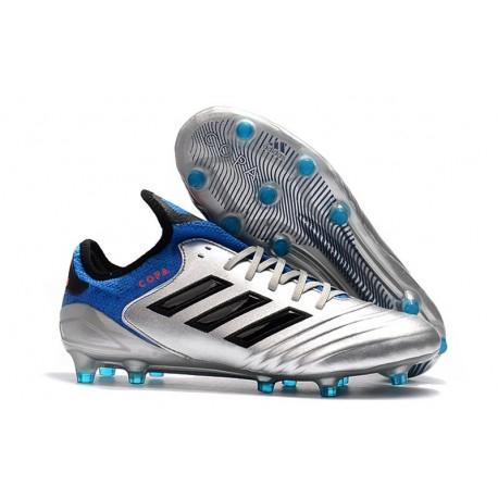 Scarpa da Calcio Adidas Copa 18.1 FG - Argento Blu Nero