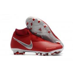Scarpe Nike Phantom Vision Elite Dynamic Fit FG - Rosso Argento