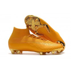 Nike Mercurial Superfly 6 Elite FG ACC Scarpe Calcio - Oro