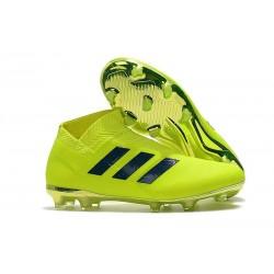 adidas Nemeziz 18+ FG Scarpa da Calcio Uomo - Verde Nero