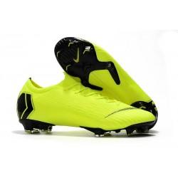 Nike Scarpe Mercurial Vapor 12 Elite FG ACC Uomo - Volt Negro