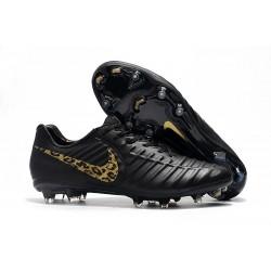 Scarpa da Calcio Nike Tiempo Legend 7 Elite FG - Nero Oro