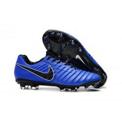 Scarpa da Calcio Nike Tiempo Legend 7 Elite FG - Blu Nero