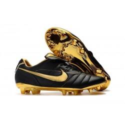 Scarpa da Calcio Nike Tiempo Legend 7 R10 Elite FG - Nero Oro