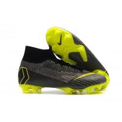 Nike Mercurial Superfly 6 Elite FG ACC Scarpe Calcio - Nero Giallo