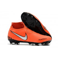Nike Scarpa Calcio Phantom VSN Elite DF FG - Arancio Nero Argento
