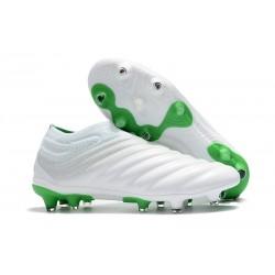 adidas Scarpe da Calcio Copa 19+ FG da Adulto - Bianco Verde