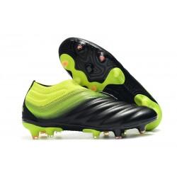 adidas Scarpe da Calcio Copa 19+ FG da Adulto - Nero Verde