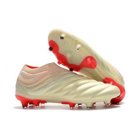 adidas Scarpe da Calcio Copa 19+ FG da Adulto - Bianco Rosso
