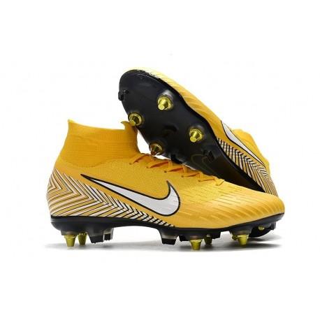 Nike Mercurial Superfly 6 Elite SG-PRO Anti-Clog Neymar Giallo