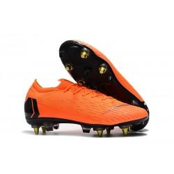 Scarpa Nike Mercurial Vapor 12 Elite AC SG-Pro Arancio Nero