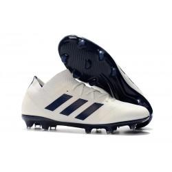Scarpe adidas Nemeziz Messi 18.1 FG - Bianco Nero
