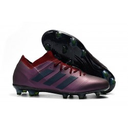 Scarpe adidas Nemeziz Messi 18.1 FG - Violeta Nero