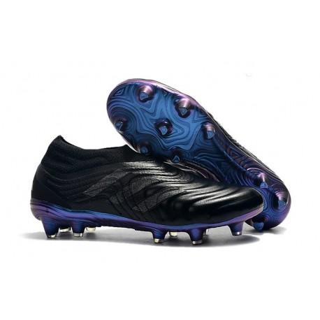adidas Scarpe da Calcio Copa 19+ FG da Adulto - Nero Blu