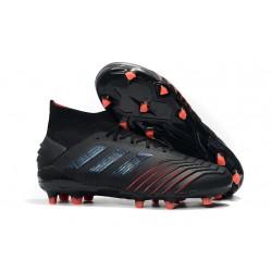 adidas Scarpa da Calcio Predator 19.1 FG - Nero Rosso