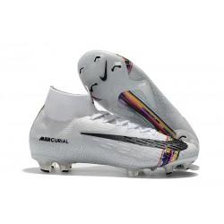 Nike Scarpa Mercurial Superfly VI 360 Elite FG - Argento Nero