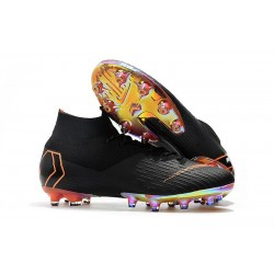 Nike Mercurial Superfly 6 Elite AG-Pro Nero Arancione
