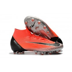 Nike Mercurial Superfly 6 Elite AG-Pro Rosso Nero Argento