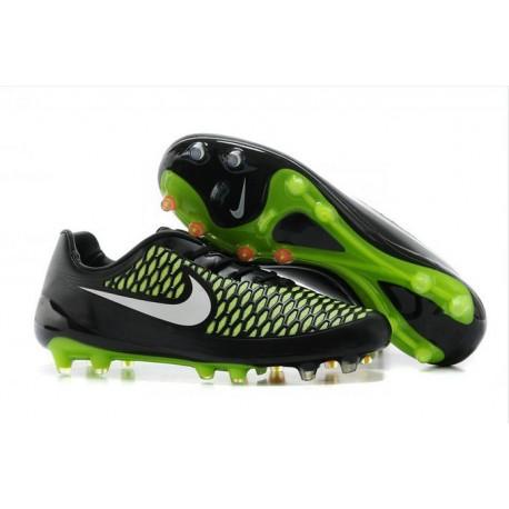 Scarpa da Calcetto Uomo Nike Magista Opus FG Nero Verde Bianco