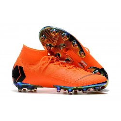 Nike Mercurial Superfly 6 Elite AG-Pro Arancione Nero