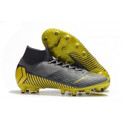 Nike Mercurial Superfly 6 Elite AG-Pro Grigio Nero