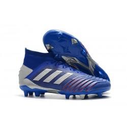 adidas Scarpa da Calcio Predator 19.1 FG - Blu Argento