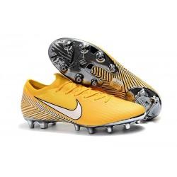 Scarpe da Calcetto Neymar Nike Mercurial Vapor XII AG-PRO Giallo Bianco