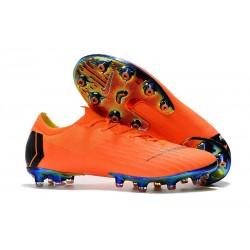 Scarpe da Calcetto Nike Mercurial Vapor XII AG-PRO Arancione Nero